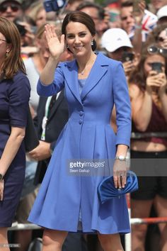 Catherine, Duchess of Cambridge arrives at the Brandenburg Gate during an official visit to Poland and Germany on July 19, 2017 in Berlin, Germany.  (Photo by Sean Gallup/Getty Images)