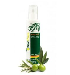 Body milk with olive oil and leaf extract 200ml. Olive leaf body milk.
