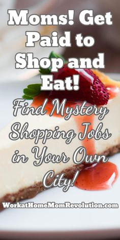 Mystery shopping is a great way for moms to make extra money! Work From Home Moms, Make Money From Home, Way To Make Money, How To Make, Extra Cash, Extra Money, Mystery Shopper, Get Paid To Shop, Home Based Business Opportunities