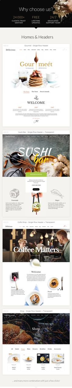 Restaurant Cafe  Theme for Restaurants and Cafes (Restaurants & Cafes)  The Ultimate Niche WordPress Theme for the Restaurants Bars and Cafes Industries  This lovely niche theme is built and suitable for any business operating in the Restaurant industry. Restaurants cafes bars bistros bakery pubs cafeteria coffee shop pizzerias or other restaurant related businesses this is the theme for you. It has purpose oriented design and comes with powerful Reservation Solution Menu pages Shop Reviews…