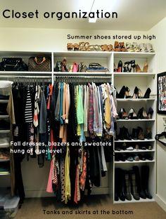34 best OCD - Organized Closets images on Pinterest | Home ideas ...