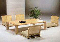 japanese table chairs ...
