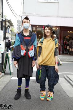 Veveropparuuu Fashion Designers in Harajuku