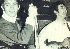 Steve Marriott and Ronnie Lane