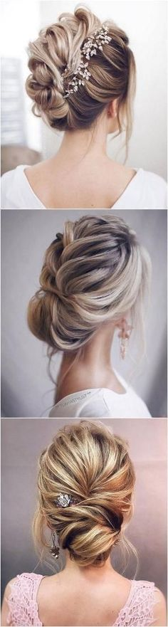 elegant updo wedding hairstyles #wedding #hairstyles #weddinghairstyles by Carrie Fleegle
