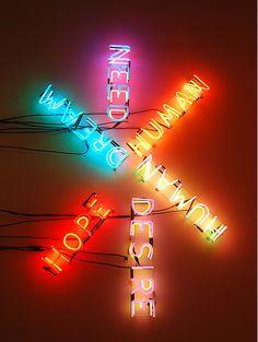 Bruce Nauman http://www.pbs.org/art21/artists/bruce-nauman