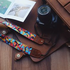 Colorful Camera Strap by Qilinlibrary on Etsy Dslr Camera Straps, Photography Lessons, Vintage Cameras, Colorful, Belt, Personalized Items, Trending Outfits, Unique Jewelry, Handmade Gifts