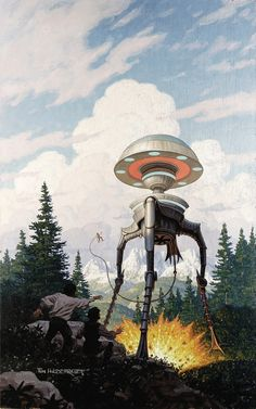 "Tim Hildebrand, ""The Tripods: The White Mountains"""
