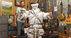 PIllowman! From Good Mythical Morning episode: 5 Weird Things You Can Do With Duct Tape.
