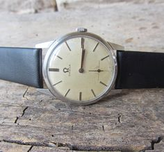 Vintage Swiss Made watch Omega 17 jewels,Caliber 269,Men's watch,Retro watch,Mechanical watch 50s,Collectible watch,Working,Old watch,Swiss by TedDiscovery on Etsy https://www.etsy.com/listing/180899663/vintage-swiss-made-watch-omega-17