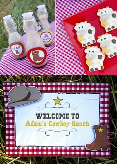 "A ""Wild West Cowboy"" Birthday Party in the Country!"