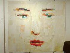I'm not usually keen on face quilts, but this has a pleasant subtlety. Sainte Marie aux Mines