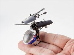 World's smallest remote controlled Helicopter toy