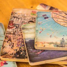 #Holzdruck auf Vintageholz www.dinkela.com