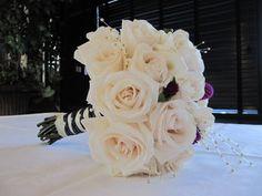 Wedding, Flowers, Reception, White, Bouquet, Ceremony, Purple, Bride
