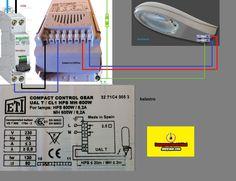 Esquemas eléctricos: balastro compact control gear
