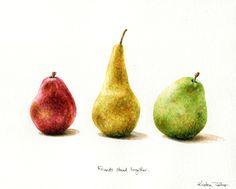 Kristen Johns: Painting pears...