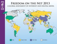 """Internet Freedom on Decline Worldwide as Governments Tighten Grip  Improved surveillance, take-down of opposition websites for """"illegal content"""" and paid pro-government commentators are among the increasingly sophisticated tools used by authorities to restrict internet freedom, a new report claims."""