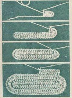 "Como tejer patucos ""Conejitos"" al crochet paso a paso DIY Knitting TechniquesKnitting HatCrochet BlanketCrochet Bag Crochet Sole, Crochet Baby Booties, Crochet Slippers, Free Crochet, Chunky Crochet, Crochet Boots, Chunky Yarn, Crochet Handbags, Crochet Purses"