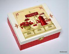 bibidekoracie / Červená konvička s makmi