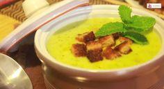 Recetas con calabacín: 34 ideas para preparar con esta hortaliza (FOTOS) | The Huffington Post Tostadas, Cheeseburger Chowder, Thai Red Curry, Tapas, Mashed Potatoes, Soup, Cooking, Ethnic Recipes, Ethnic Food