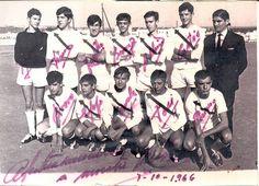 https://flic.kr/p/nhHnwH   1966-67 Juvenil A. Campeon de Liga y Copa   1996-97 Juvenil A (Campeon de Liga y Copa) Tomas, Franco, Isidro, Borrego, Balbino, Cortes y Paco Robles. Agachados:Bravo, Espejo, Canzobre, Tosi y Pozueco.