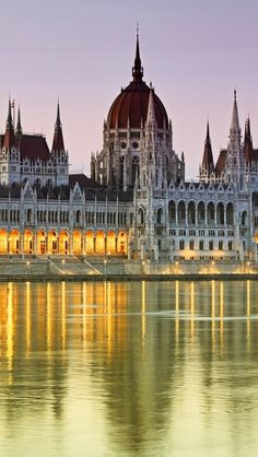 Budapest's House of Parliament. Hungary.