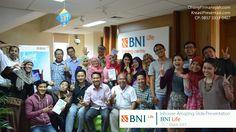 Workshop Desain Slide Powerpoint Amazing Slide Presentation bersama Pakar Slide Dhony Firmansyah, di PT. BNI Life Insurance Jakarta, 5 - 7  Maret 2015.