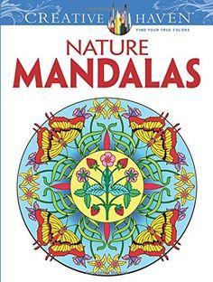 nature mandalas book creative haven - Recherche Google