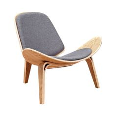 Who's to say you can't have it all? With its cool mid-century–inspired silhouette and plush polyester upholstery, this Wings Chair is a perfect fusion of comfort and style. Its warm, natural wood-finis...  Find the Wings Chair in Natural and Fabric, as seen in the Scandinavian Farmhouse Collection at http://dotandbo.com/collections/scandinavian-farmhouse?utm_source=pinterest&utm_medium=organic&db_sku=116448