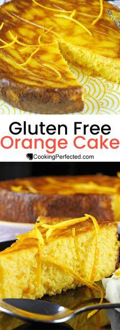Moist Gluten-Free Orange Cake - Cooking Perfected