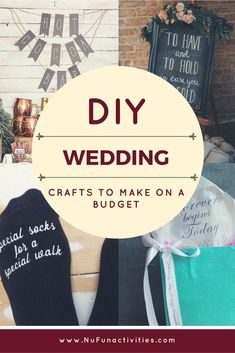 Getting married soon and on a budget? Looking to make your own wedding favors? Check out all of the crafts you can do with NuFun!