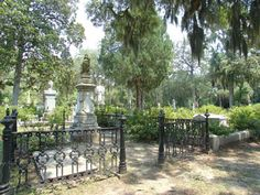 Haunted Places: Bonaventure Cemetery