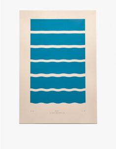 Julia Kostreva / Exclusive Waves Print