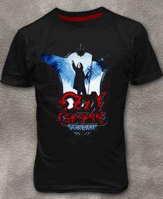 Ozzy Osbourne T-shirt Round Neck Short Sleeve S-3XL http://bit.ly/ZSozDy