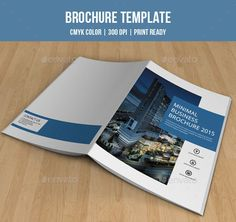 Use this Corporate Bi-fold Brochure design when you need promotion and advertising. It comes with elegant, modern and clean design for corporate and related industry.