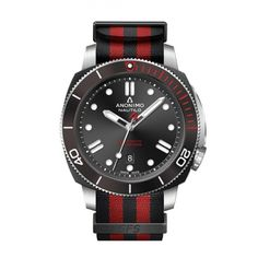 Limited Edition of 300 Numbered Pieces Movement Self winding, base Sellita SW200-1 Functions3 handsDate at 6 o'clockSuperluminova markers Dual tine model in red and blackTinted bezel, one way