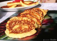 Pancakes, Breakfast, Pierogi, Recipes, Food, Morning Coffee, Essen, Pancake, Eten