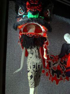 Chinese New Year-themed Bergdorf Goodman window display...New York.