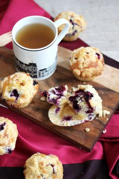 Blog Cuisine & DIY Bordeaux - Bonjour Darling - Anne-Laure: Brunch : Muffins myrtilles façon Starbucks