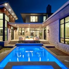 Reshaping Design Through Lighting: Cozy Luxury Home by Cornerstone Architects.