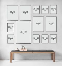 Picture Wall Inspiration How to make a picture wall Nonsense Decor Room, Living Room Decor, Home Decor, Inspiration Wand, Photo Wall Decor, Wall Art Decor, Gallery Wall Layout, Family Wall, Picture Wall