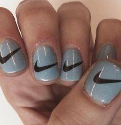 Nike sign nails