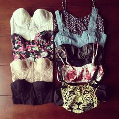 tank top tops tumblr bustier cute summer fashion love tribal lace floral tiger denim sexy help patterns lace bustier floral bustier miley cyrus weheartit wheretoget forever 21 urban outfitters runwaydreamz crop tops crop top t-shirt