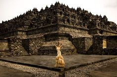 Amazing Indonesian Temple