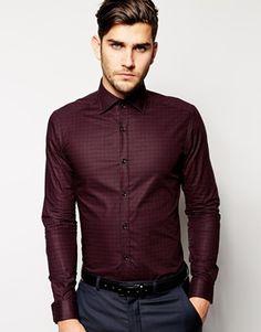 Reiss Check Shirt In Regular Fit