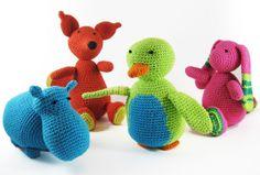Gehaakte knuffels #Anama #amigurumi #knuffels Crochet Animals, Yoshi, Dinosaur Stuffed Animal, Great Gifts, Felt, Sewing, Knitting, Toys, Cute