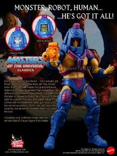 Masters of the Universe Classics Man-E-Faces