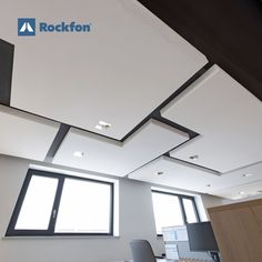 Did you know that the seamless design by Rockfon® Mono® Acoustics® enables you to choose between flat or curved, bright white or custom coloured, ceilings or walls? That's what architectural success looks like. Rockfon® Mono® Acoustics is more than a ceiling, it's a surface solution designed to enrich the beauty of your monolithic design with great acoustics. ☑️Shape it. ☑️More than a ceiling. ☑️️White or custom colour. #SoundsBeautiful #rockfon #acousticceiling#officedesign #inspiration Acoustic Design, Office Environment, Ceilings, Offices, Design Projects, Surface, Walls, Success, Layout