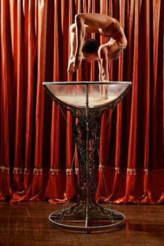 Glass contortion | Solo | Contortionists | Circus performers | Performers | Entertainment Agency | Corporate Entertainment